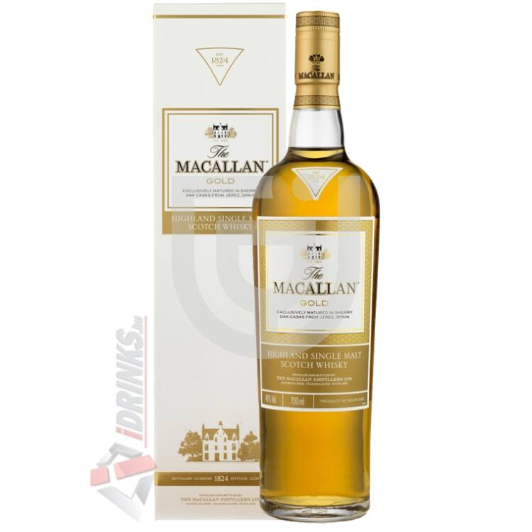 Macallan Gold 1824 Whisky [0,7L|40%]