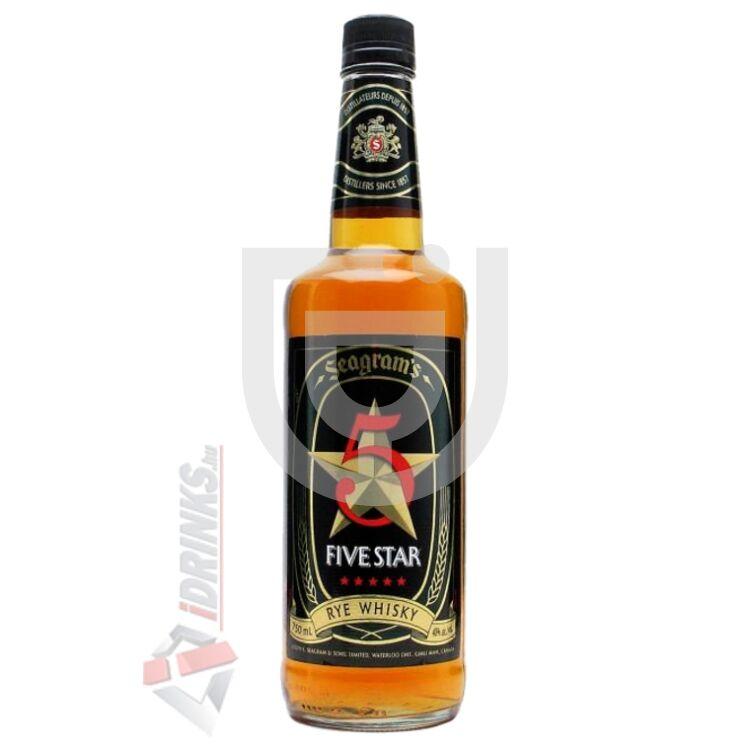 Seagrams Five Star Rye Whisky [0,7L|40%]