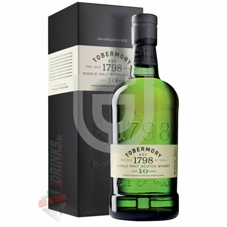 Tobermory 10 Years Whisky (DD) [0,7L|46,3%]