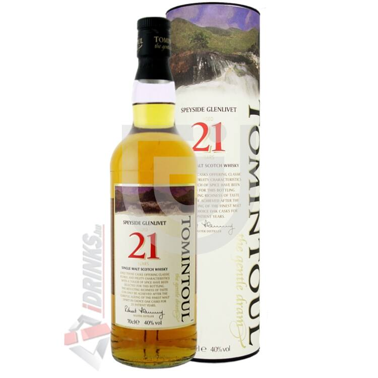Tomintoul 21 Years Whisky [0,7L 40%]