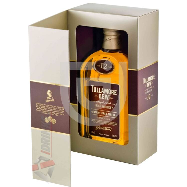 Tullamore Dew 12 Years Sherry Cask Whiskey [1L|46%]